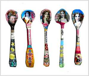 Caron Coldwell - Mustard Spoons