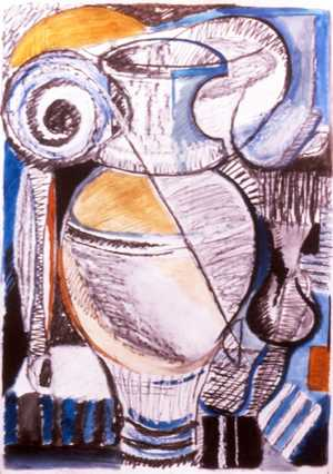 Large Still Life 1 - Gordon Coldwell