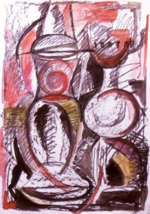Large Still Life 2 - Gordon Coldwell