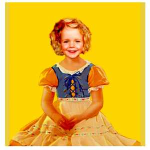 Scarlett as Shirley Temple (Yellow) - Gordon Coldwell
