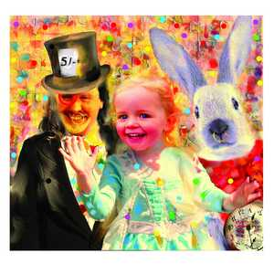 Scarlett, Mad Hatter and White Rabbit - Gordon Coldwell