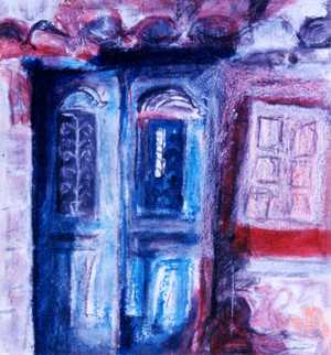 Spetses Doorway - Caron Coldwell