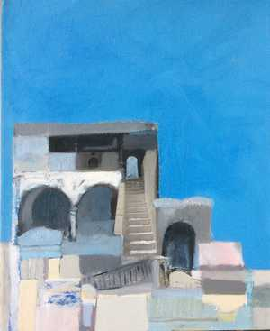 Arches & Blues - Caron Coldwell