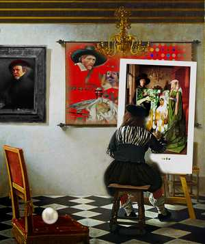 The Artist & The Paintings - Gordon Coldwell